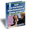 Instant Focus Group Questions - e-book