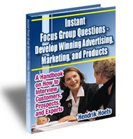 Instant Focus Group Questions - eBook